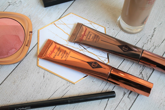 Charlotte Tilbury Hollywood Beauty Light Wand and Contour Wand Review