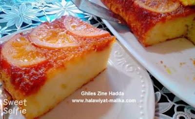 كعكة البرتقال طرية ولذيذة