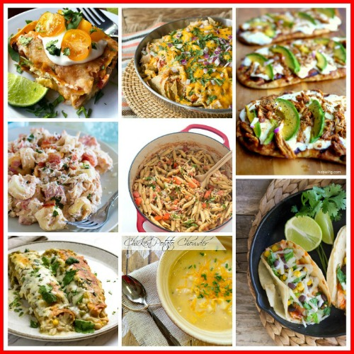 8 Easy Meals You Can Make With Rotisserie Chicken- You can quickly make a yummy and semi-homemade meal with store-bought rotisserie chicken! Here are some tasty meals you can make with rotisserie chicken! | chicken recipes, dinner ideas, easy meal, lunch, food, quick dinner, ways to use rotisserie chicken