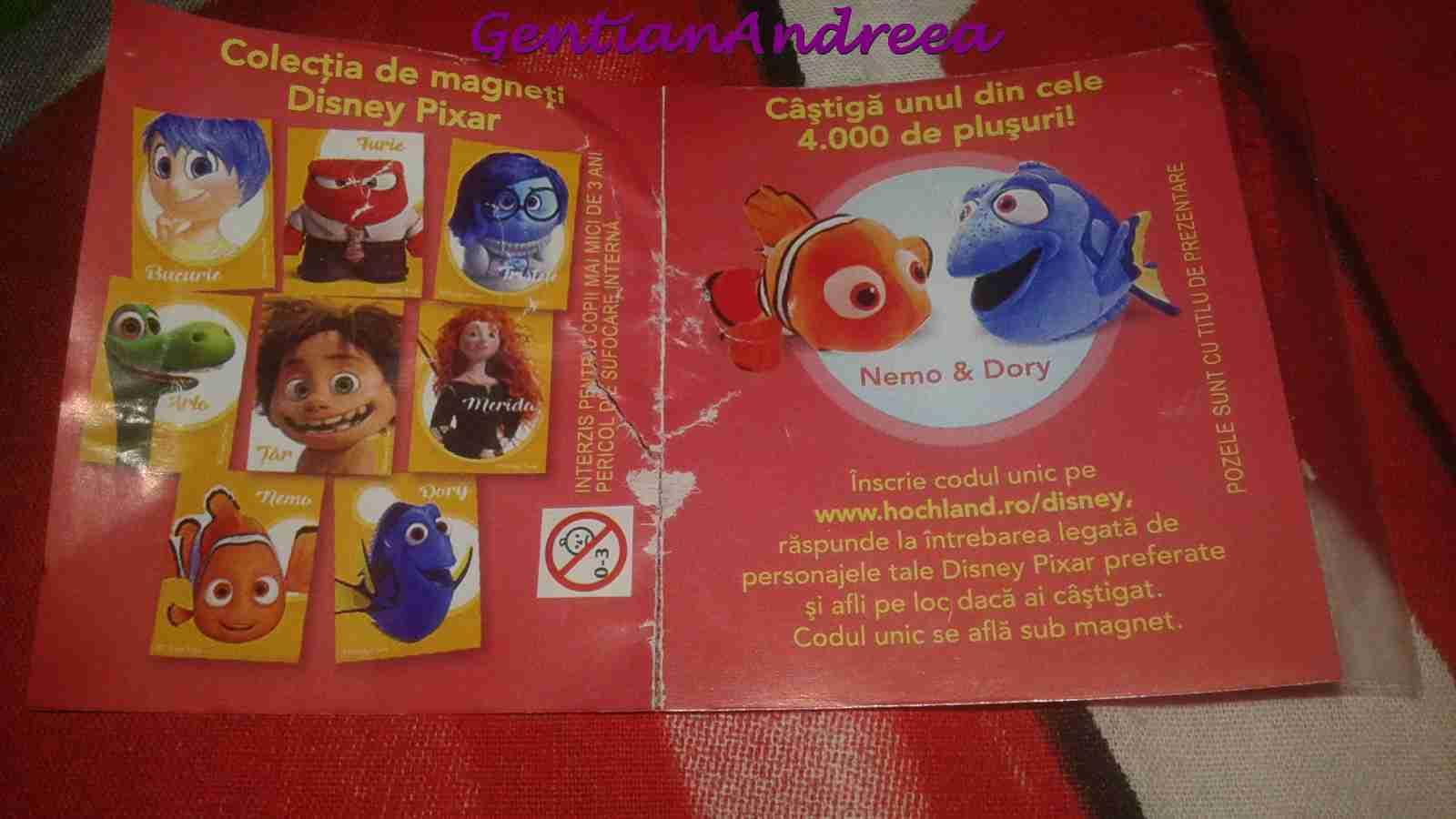 100% de înaltă calitate Adidași 2018 reducere Gentiana Andreea: Promotie : magnet Disney - Hochland