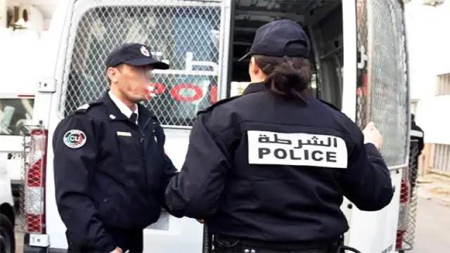 الرباط: إعتقال شرطي برتبة حارس أمن بتهمة السرقة