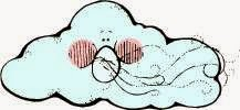 cloud blowing wind graphic