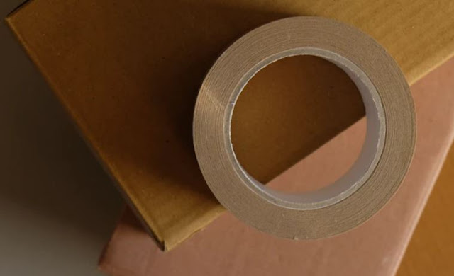 how to use custom printed tapes package taping shipping