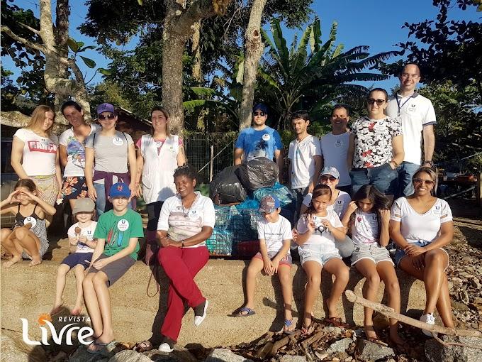 Ação ambiental comemora Dia Mundial dos Oceanos em Penha