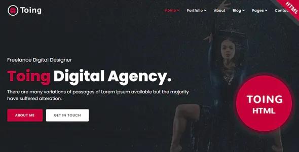 Best Creative Portfolio HTML Template