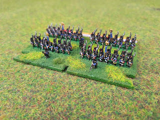 6mm French infantry brigade by Baccus