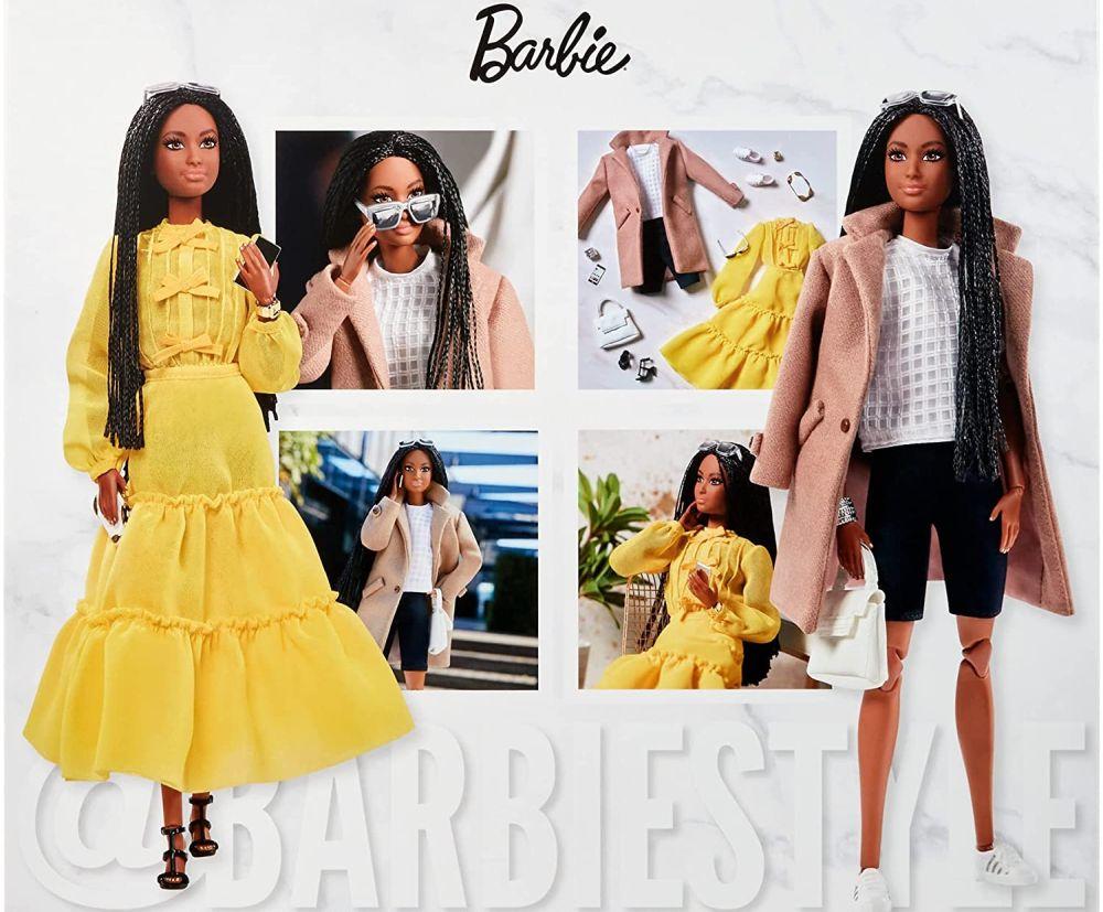 Темнокожая кукла барби @BarbieStyle 2021