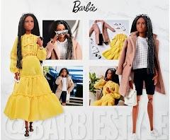Темнокожая кукла Барби @BarbieStyle из летней коллекции 2021