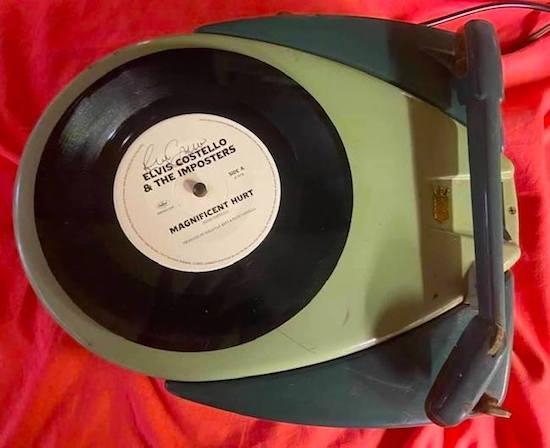 "Elvis Costello launches new single ""Magnificent Hurt"" in Memphis"