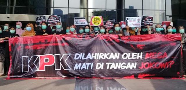 KPK Dilahirkan Mega, Mati Di Tangan Jokowi?