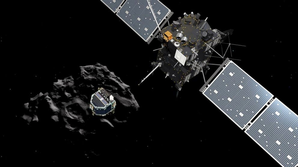 Rosetta dropped Philae into 67P
