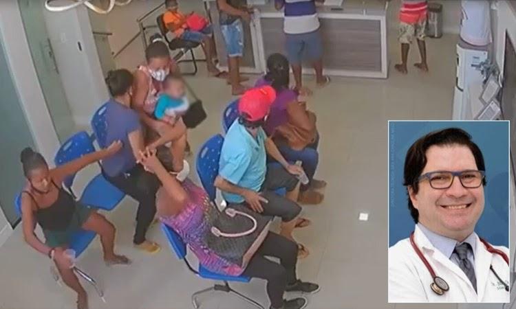 Pediatra é morto a tiros dentro de clínica particular na Bahia; Vídeo mostra correria de pacientes