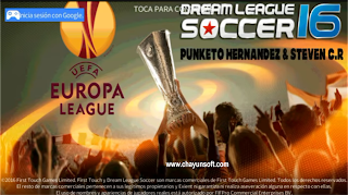 Download DLS 16 Mod Europa League 2016/2017 By Punketo Hdz
