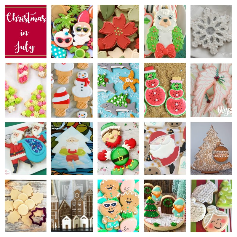 Christmas In July Sugar Cookie Celebration