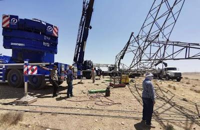 انفجار يتسبب بضعف تجهيز الطاقة الكهربائية في نينوى