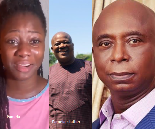 Ned Nwoko is a wicked man- Former Beauty Queen Pamela Ifejoku accused Ned Nwoko for Grabbing her father's land and Jailing him (Video)