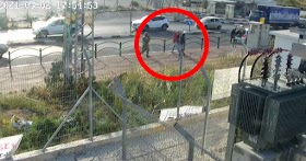 Palestinian Muslim screaming 'Allahu akbar' opens fire toward Jews waiting at a bus stop
