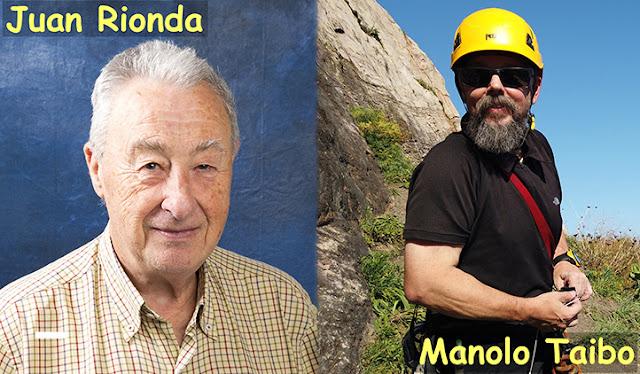 Juan Rionda y Manolo Taibo, candidatos a la presidencia de la Federación de Deportes de Montaña, Escalada y Senderismo del Principado de Asturias.