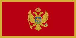 Montenegro Vlag