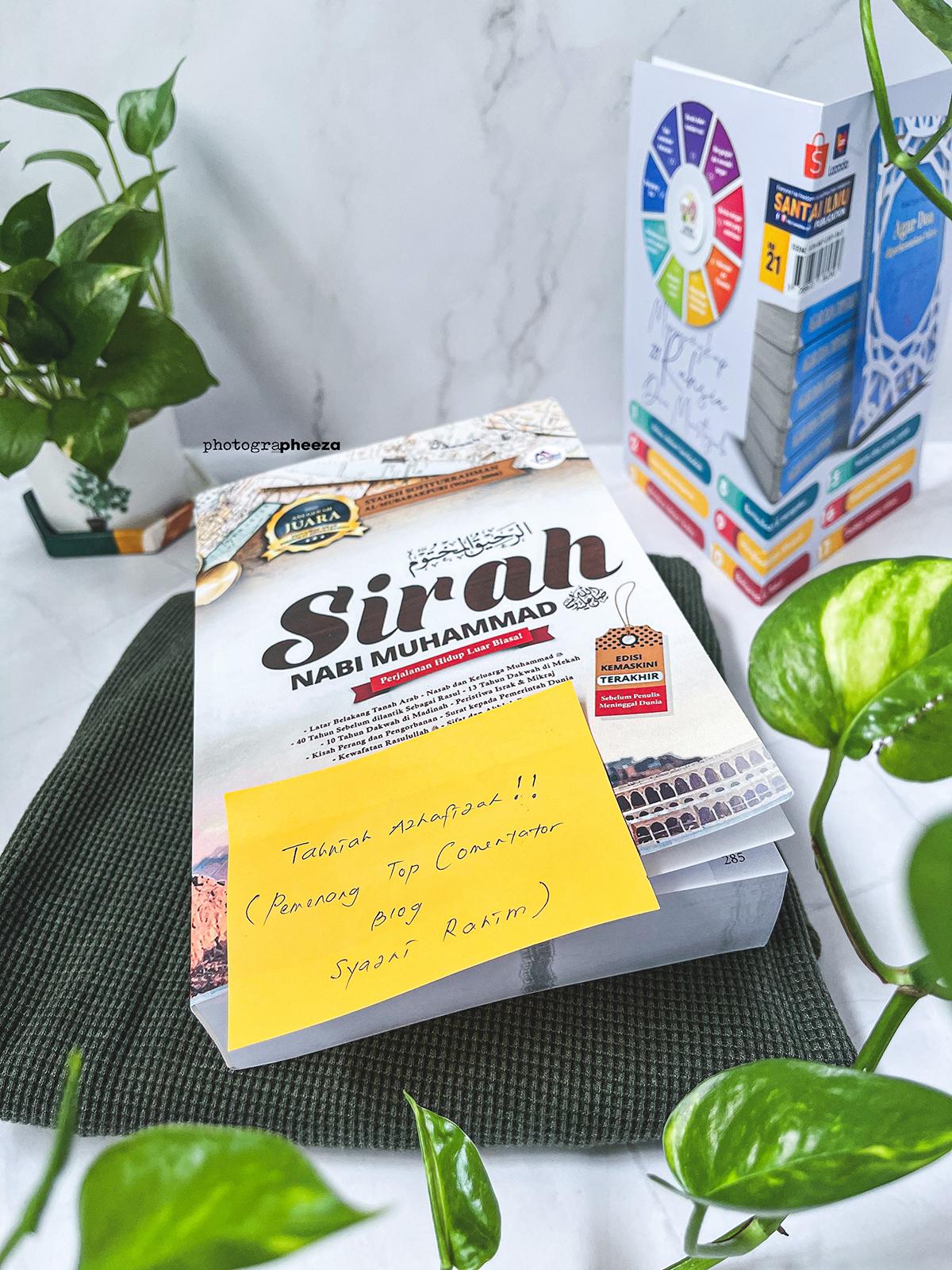 Hadiah Buku Sirah Nabi Muhammad SAW. Perjalanan Hidup Luar Biasa!