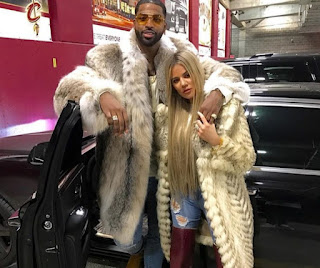 Khloe Kardashain gets cozy with Tristan Thompson in a video hinting the rekindled romance