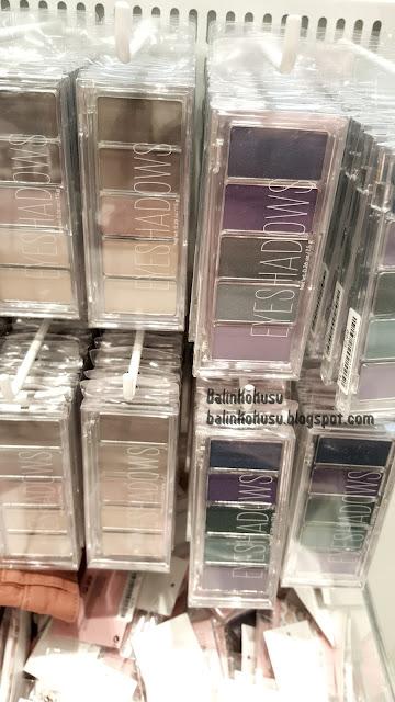 H&M eyeshadows paletleri renkleri