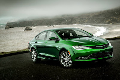 Chrysler 200 Sedan green color Hd Pictures