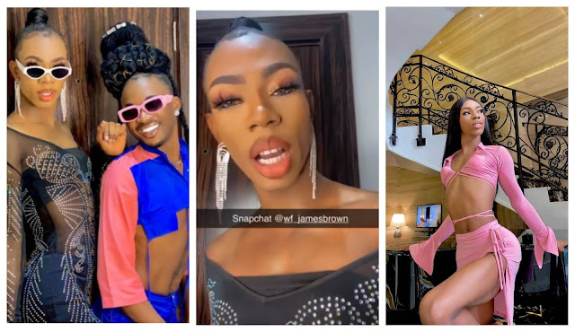 I won't stoop so low to reply commoners - James Brown reacts after being called out for stealing at cubana club (video)