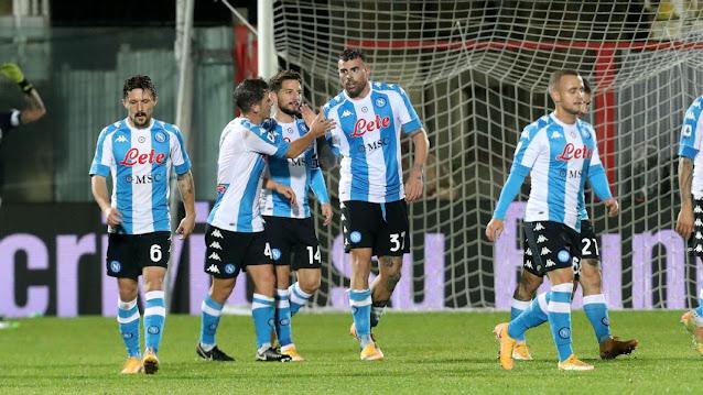 تشكيلة نابولي الرسمية لمواجهة ريال سوسيداد اليوم الخميس في الدوري الاوروبي