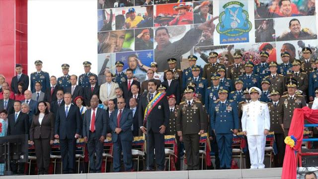 Maduro: Fuerzas Armadas están listas ante amenazas de EEUU