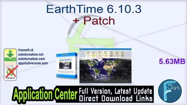 EarthTime 6.10.3 + Patch