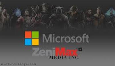 مايكروسوفت Microsoft تستحوذ على ZeniMax Media لتطوير و نشر الألعاب