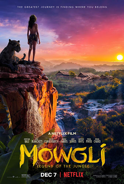 Mowgli: Legend of the Jungle 2018 Netflix movie poster Andy Serkis Rohan Chand
