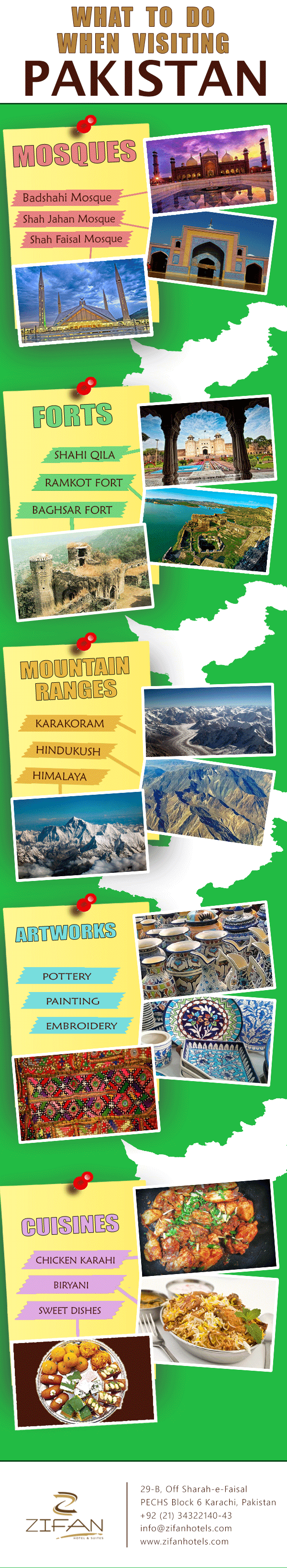 What to Do When Visiting Pakistan #infographic