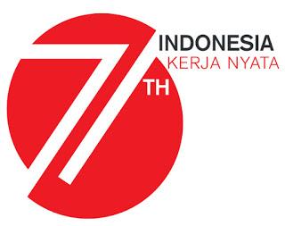 logo HUT RI ke 71 tahun 2016