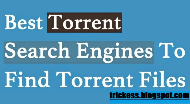 The best torrent search engines – december 2018.