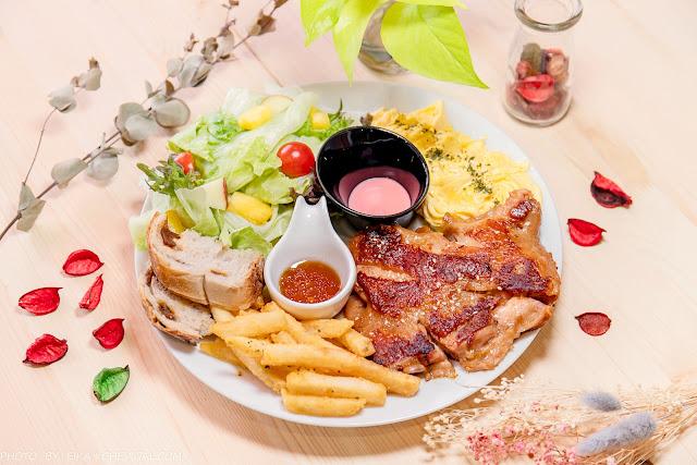 MG 3607 - 熱血採訪│蔚蒔Dunch午晚餐,隱藏版花草森林系餐廳新開幕!餐點好吃份量有誠意