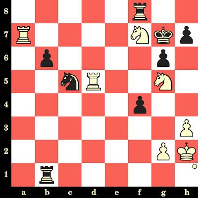 Les Blancs jouent et matent en 4 coups - Gata Kamsky vs Vasil Spasov, Tilburg, 1992