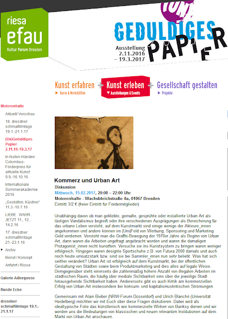 http://riesa-efau.de/kunst-erleben/motorenhalle/un-geduldiges-papier-21116-19317/kurs/2017/02/15/kommerz-und-urban-art-2453/