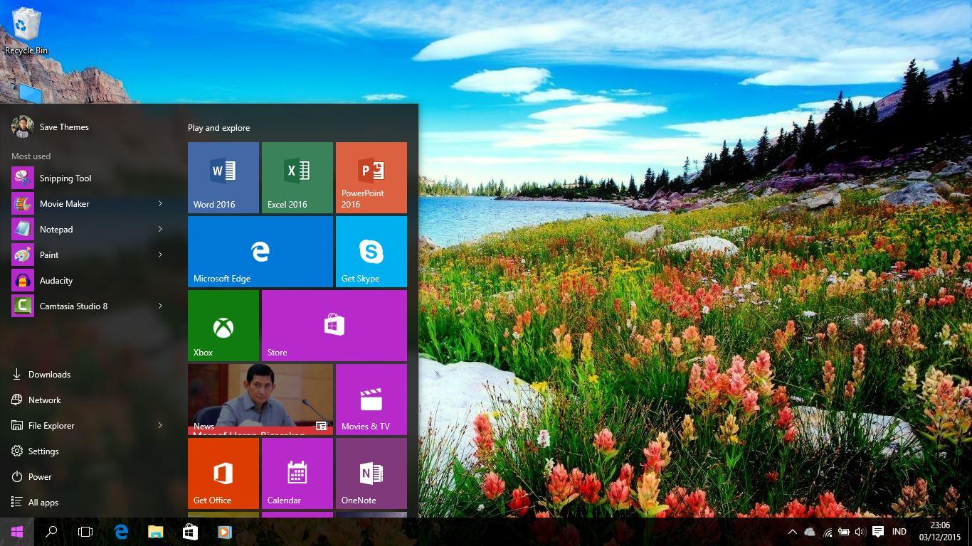 Windows 7 ThemePack Amazing Lakes 1 2019 Ver 9 4 Addon - erunedin1987