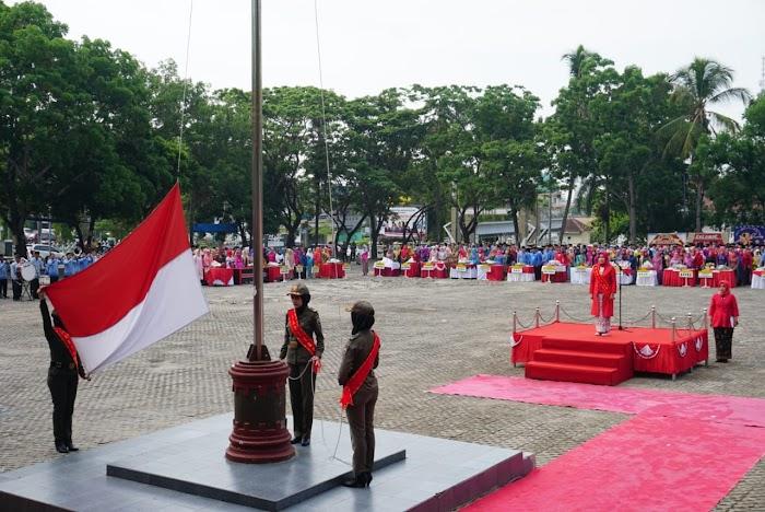 """Di Hari Ibu Yang ke-91 Pemkab Lamsel Gelar Upacara Dengan Tema """"Perempuan Berdaya Indonesia Berjaya."""
