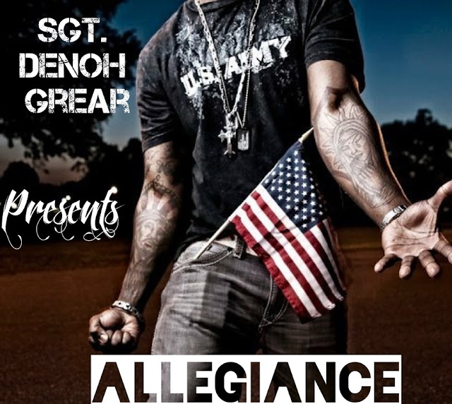 "Sgt. Denoh Grear releases powerful new song ""Pledge of Allegiance"""
