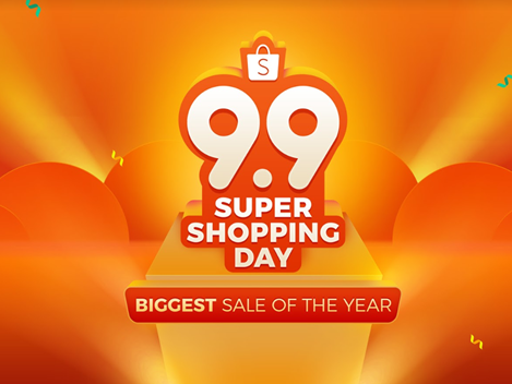 Shopee 9.9 Super Shopping Day is Back!