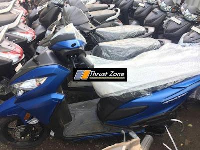 Honda Grazia 125 di India