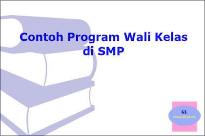 Contoh Program Wali Kelas di SMP