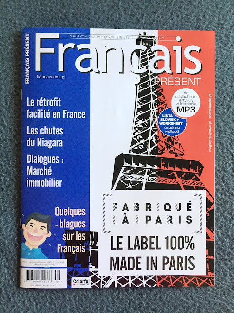 """Français Présent 52/2020"" - okładka czasopisma - Francuski przy kawie"