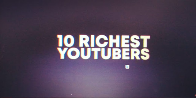 Top 10 Richest Men in YouTubers of 2020