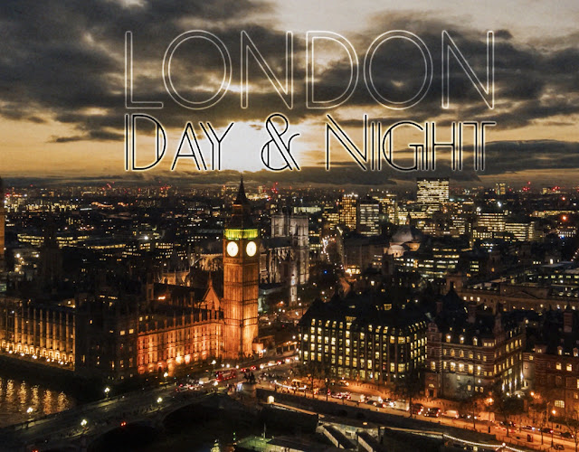 London in fascinating Day and Night Comparison