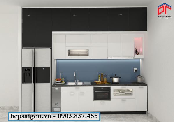 tủ bếp, tủ bếp đẹp, tủ bếp hiện đại, tủ bếp gia đình