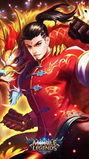 Chou Dragon Boy Heroes Fighter of Skins V4